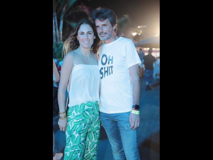 Erika Basave y Nacho Cobo