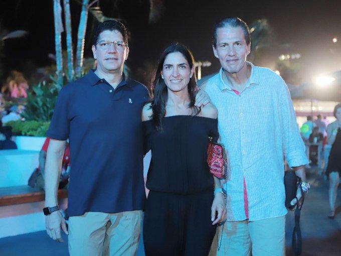 Manuel Suero, Lorena Vieyra y Gaspar Gutiérrez