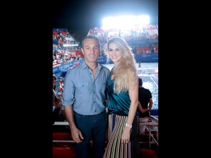 Carlos Slim Domit con María Elena Torruco