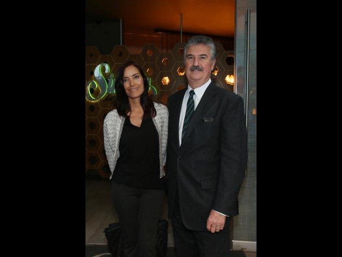 Fabiola Maza y Alejandro Rodríguez