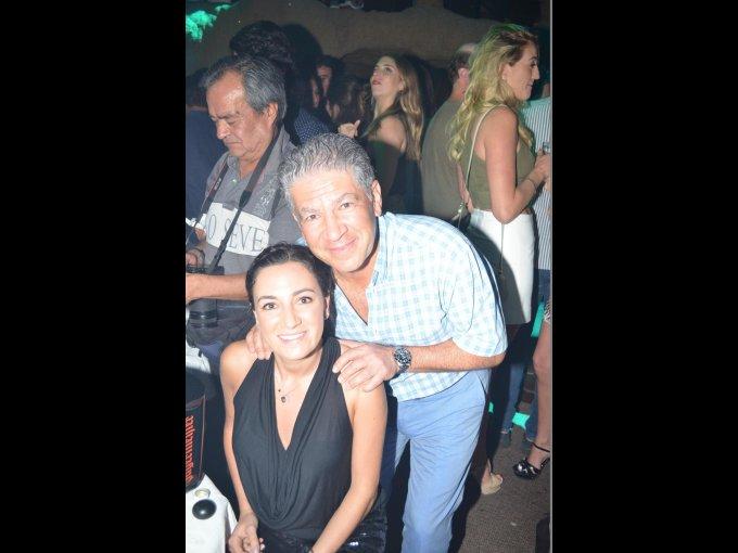 Nicole y Carlos Hajj