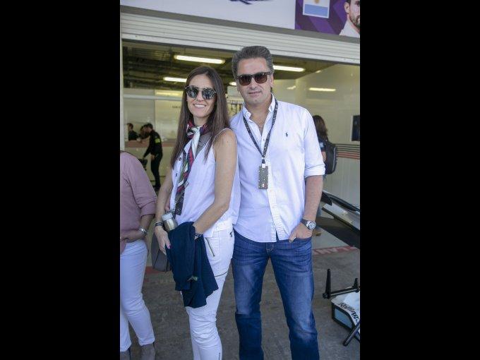 María José Alonso y Jorge Escobar