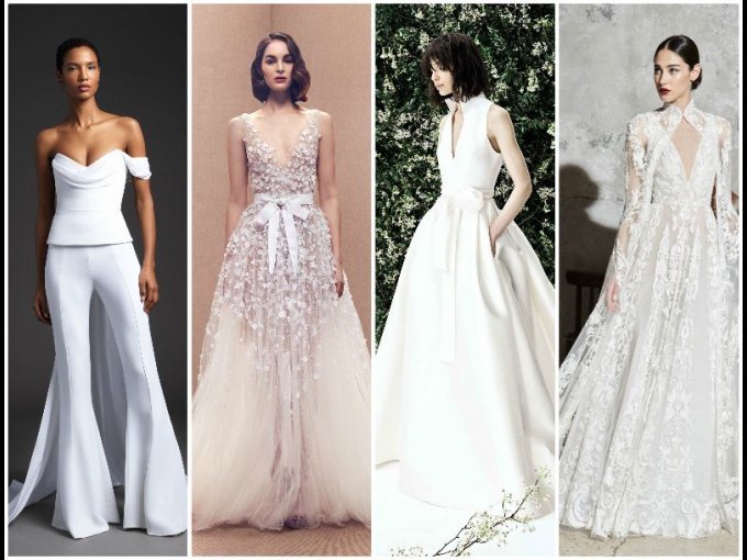 f19745efa Vestidos de novia  tendencias de 2020 del Bridal Fashion Week