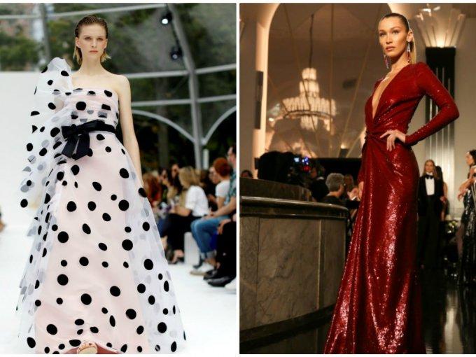 Vestidos De Nyfw 2019 Carolina Herrera Y Ralph Lauren