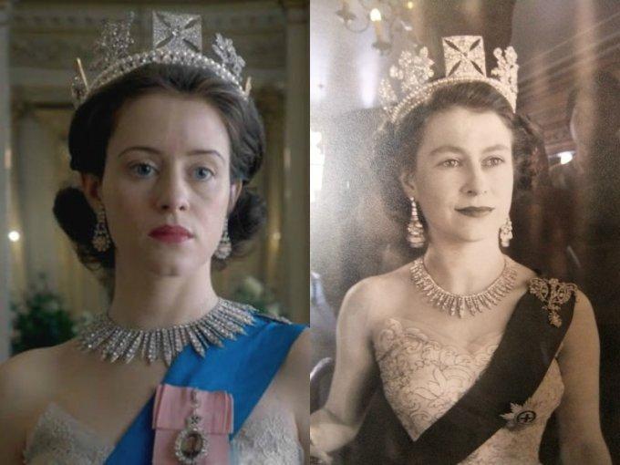 Claire Foy es la Reina Isabel II