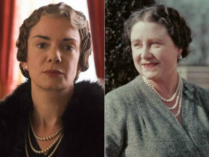 Victoria Hamilton es Isabel la Reina Madre, mamá de la Reina Isabel II