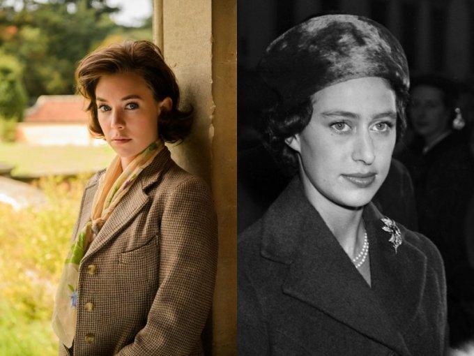 Vanessa Kirby personifica a la princesa Margaret, hermana de la Reina Isabel II