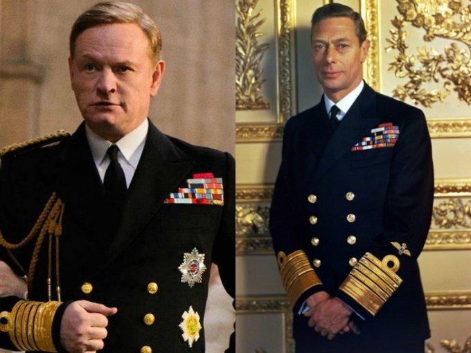 Jared Harris es el Rey Jorge VI, padre de Isabel II