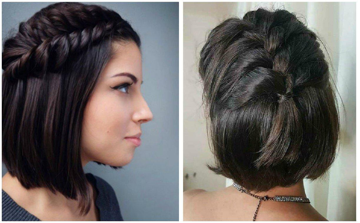 Fabuloso peinados pelos cortos Imagen De Consejos De Color De Pelo - Trenzas para cabello corto que funcionan como un peinado