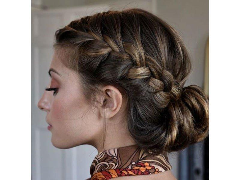 Un look impactante con peinados para fiesta ibicenca Imagen de cortes de pelo estilo - 15 ideas de peinados para fiesta que no te harán ver como ...