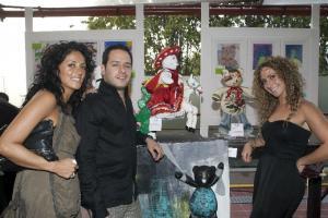 Ivette Ballesteros, Rodrigo Fernández y Joslin El Khoury