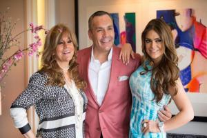 Lucy Jardón, Daniel Espinosa y Jazmín Jalil.