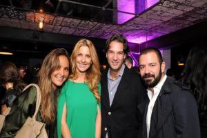 Alejandra Martínez, Marcela Cuevas, David Cázares y Alejandro Serratos.