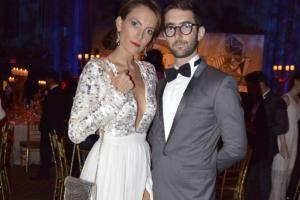 Jerónimo Gaxiola y Ana Gaby Peralta durante la gala de El Museo del Barrio en Nueva York