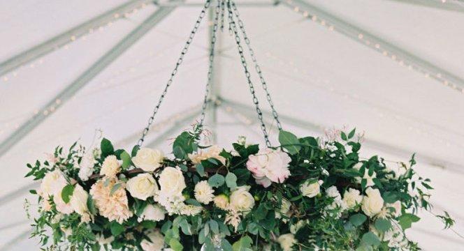 Candelabro de flores