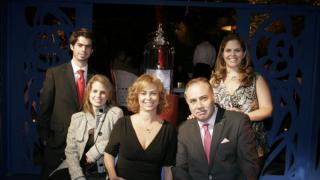 Juntos en el proyecto: Diego Romeo, Mara de Anda, Frida Romeo, Mara Kahlo y Jorge Puentes