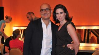 Ángel Sánchez y Alicia López Ostolaza