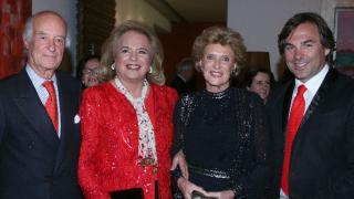 José Carral, Ira von Fürstenberg, Viviana Corcuera y Hubertus Hohenlohe
