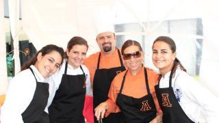 Marimar Collado, Sonia Suárez, Israel Godínez, Yolanda Silva y Cecilia Domit