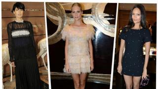 Para la inauguración de su nueva flagship Store, Chanel invitó a famosas y socialités británicas a disfrutar de una visita privada