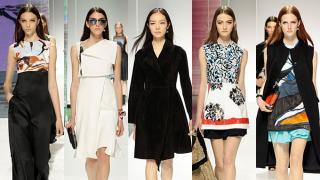 Raf Simons trasladó el equipo de Dior a Brooklyn, para presentar una colección inspirada en el accesorio favorito de la mujer francesa: las mascadas de seda.