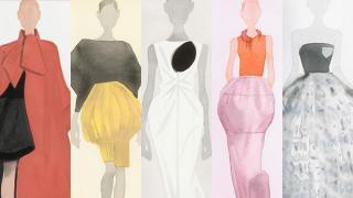 Mat Gustafson ilustra la colección primavera-verano 2014 de Dior.