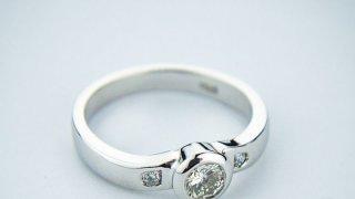 Oro blanco, elegante opción de joyería