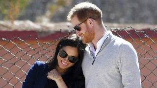 Meghan y el príncipe Harry.