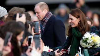 El príncipe William y Kate Middleton.