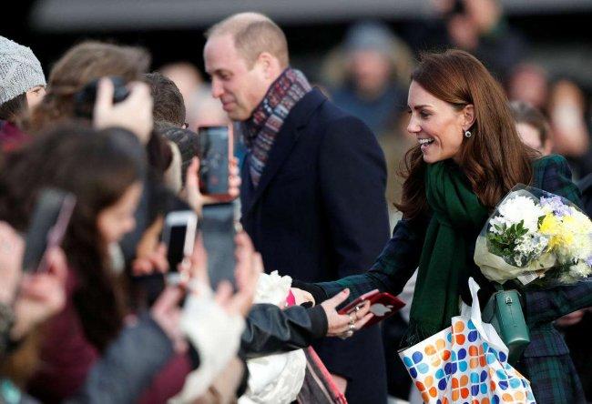 El príncipe William y Kate Middleton.