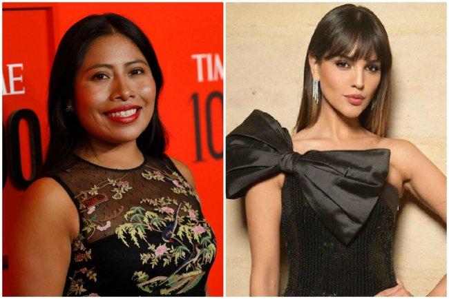 Yalitza Aparicio y Eiza González.