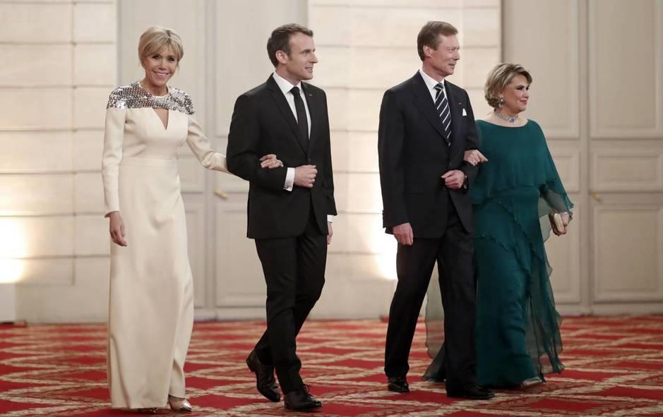 El Vestido Mas Elegante De Brigitte Macron Rsvponline