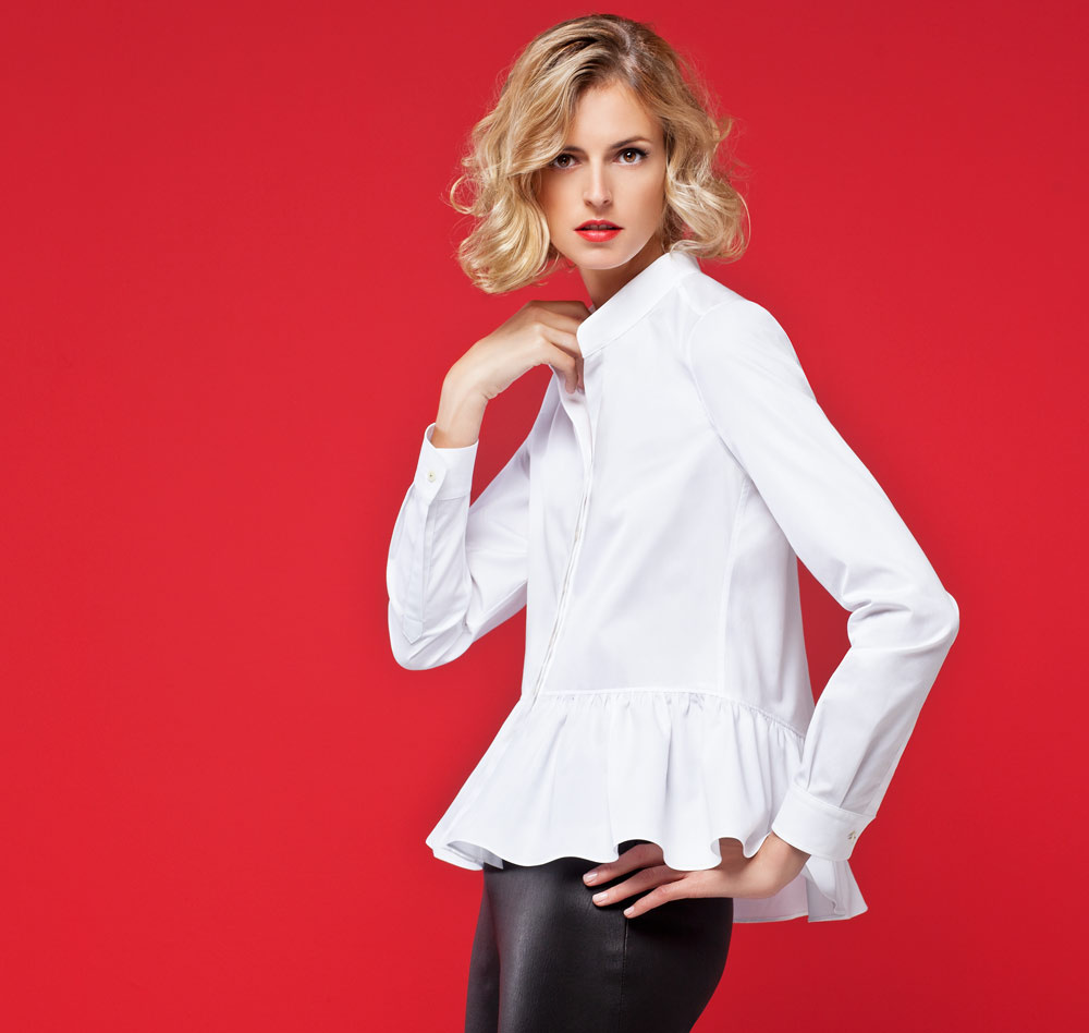 202d5076f Así se usa una camisa blanca, según Carolina Herrera